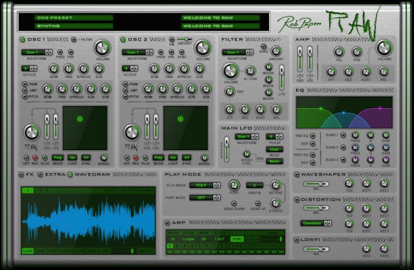Rob Papen Raw (Download)