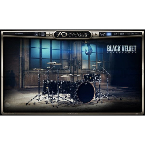Addictive Drums 2:  Black Velvet ADpak