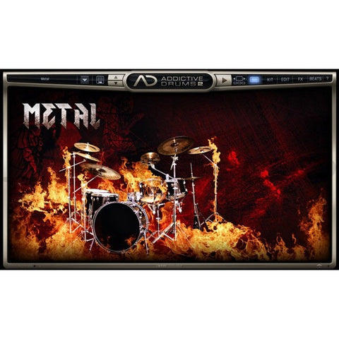 Addictive Drums 2:  Metal ADpak