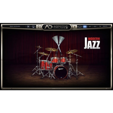 Addictive Drums 2:  Modern Jazz Brushes ADpak