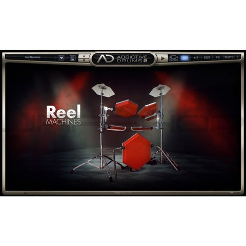 Addictive Drums 2:  Reel Machines ADpak