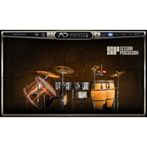 Addictive Drums 2:  Session Percussion ADpak