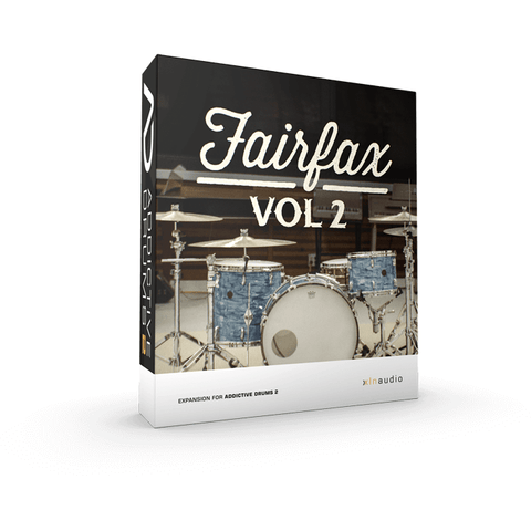 Addictive Drums 2:  Fairfax Vol. 2 ADpak