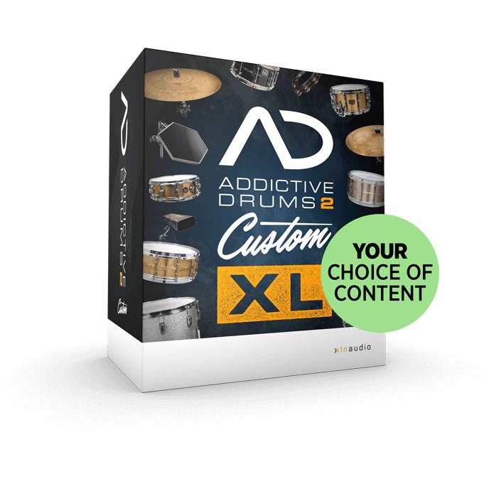 Addictive Drums 2:  Custom XL