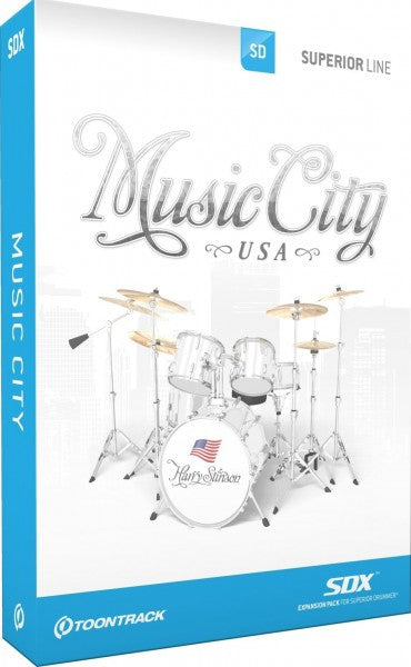 Toontrack SDX: Music City USA (Download)