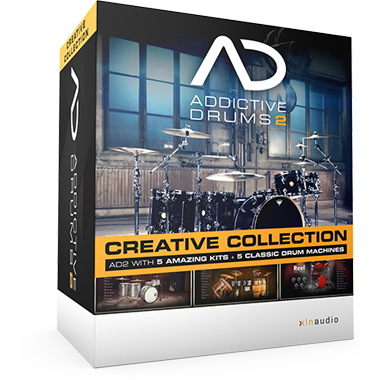 Addictive Drums 2:  Creative Collection