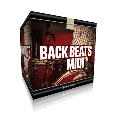 Toontrack Back Beats MIDI (Download)