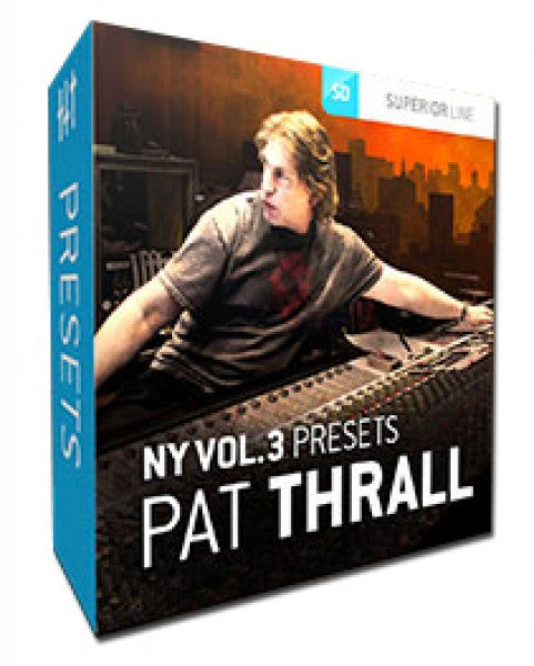 Toontrack NY Studios V3 Presets Pat Thrall (Download)
