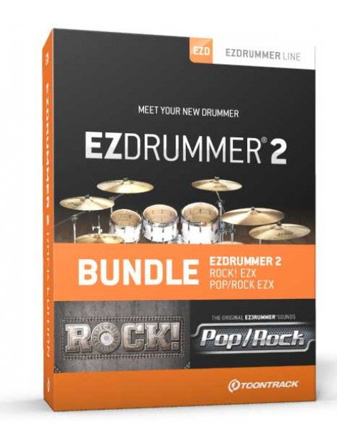 Toontrack EZdrummer 2 Rock Edition (Download)