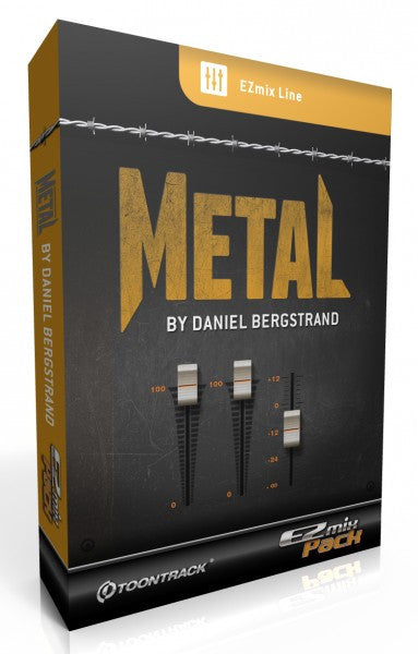 Toontrack EZmix 2 Metal, Daniel Bergstrand 2  (Download)