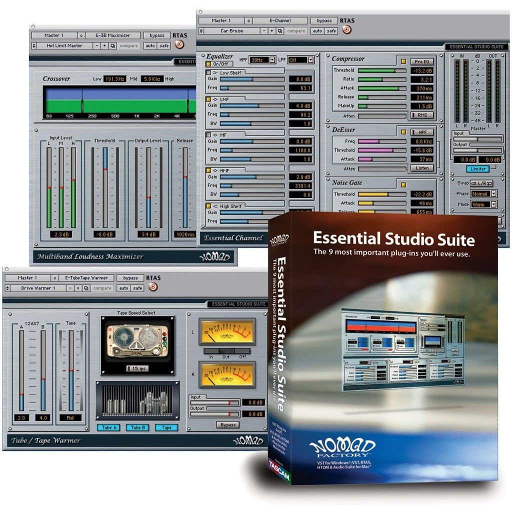 Essential Studio Suite - HIA music store, Bundle