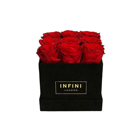 INFINI Suede - Classic Cube - SALE Colours - INFINI roses that last a year