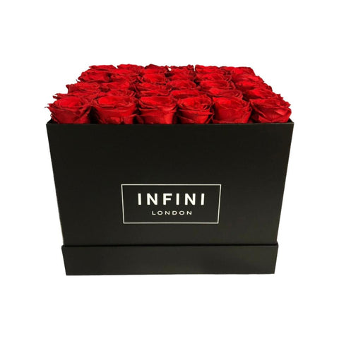 The Large Square Box - SALE Colours - INFINI roses that last a year