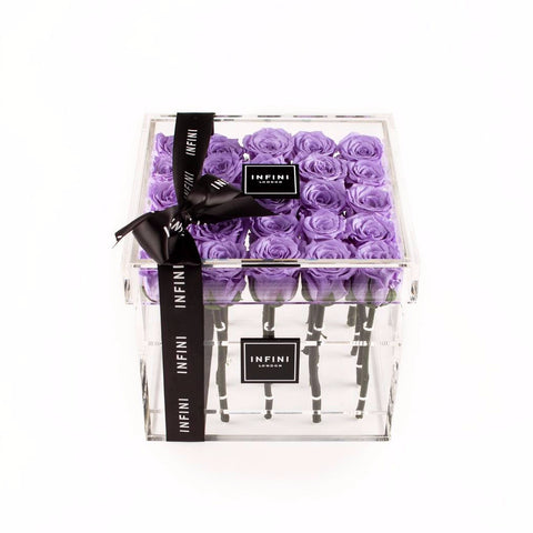 Diamond Luxe - Lilac Roses - INFINI roses that last a year