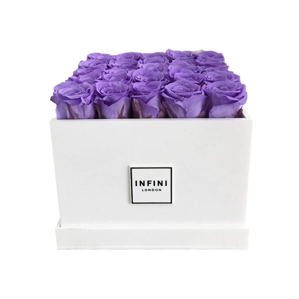 White Diamond - Lilac Roses - INFINI roses that last a year