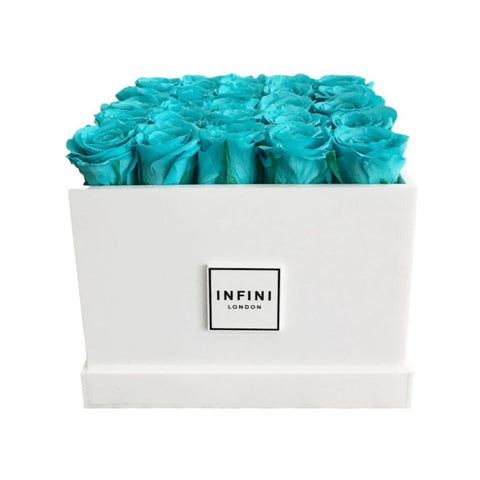 White Diamond - Tiffany Roses - INFINI roses that last a year