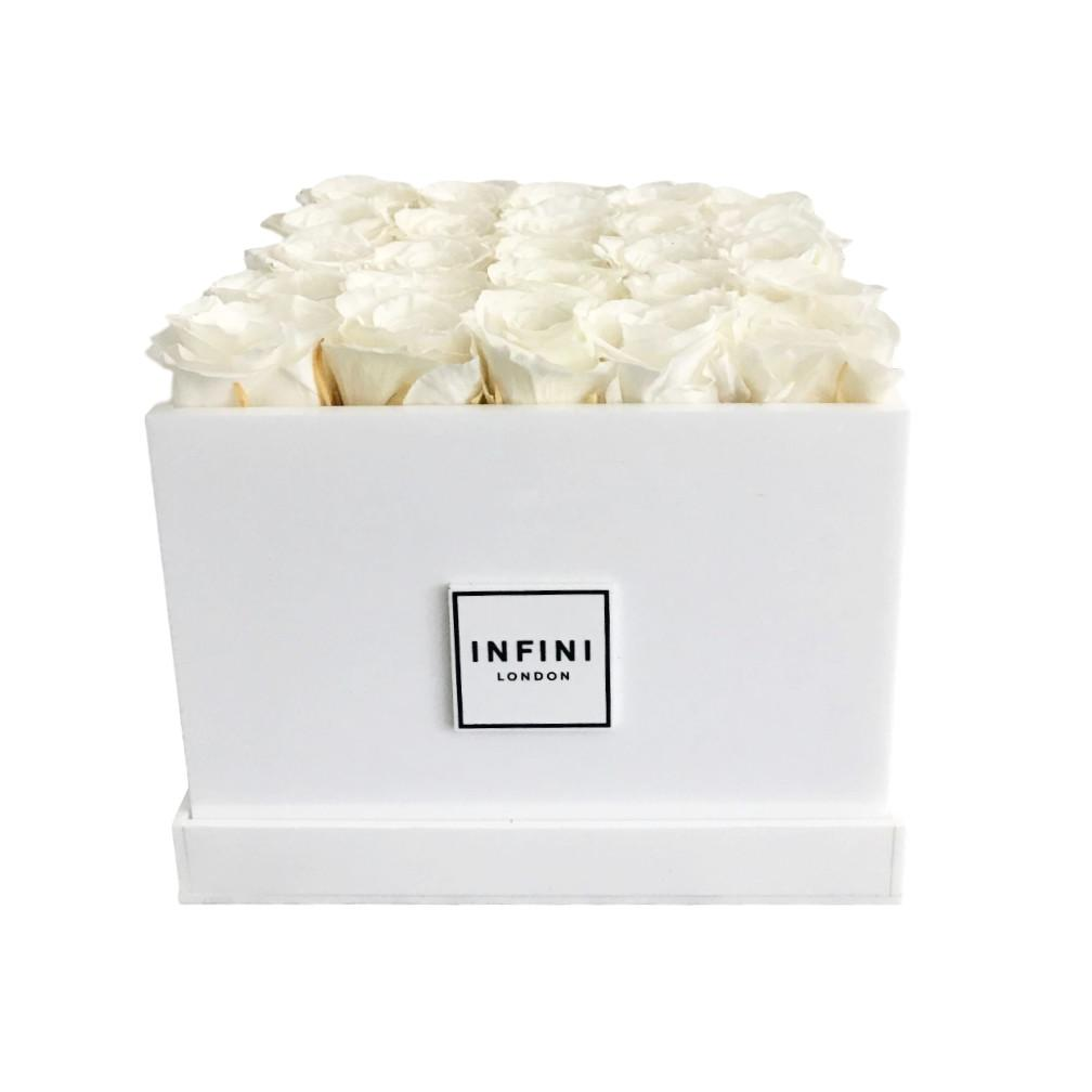 Signature Classic - White Roses - INFINI roses that last a year