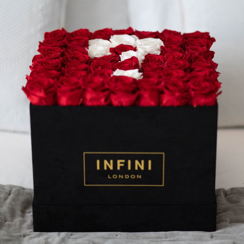 Bespoke Design- Classic Large Letter - INFINI roses that last a year