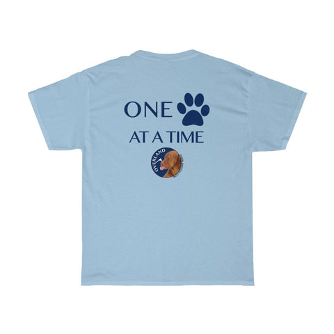 "Premium T-Shirt ""One Paw At A Time"""