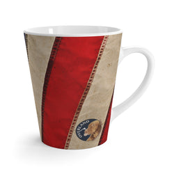 Overland Dog Flag - Latte mug