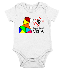 Love is a Sugar Faced Vizsla - Baby Onesie
