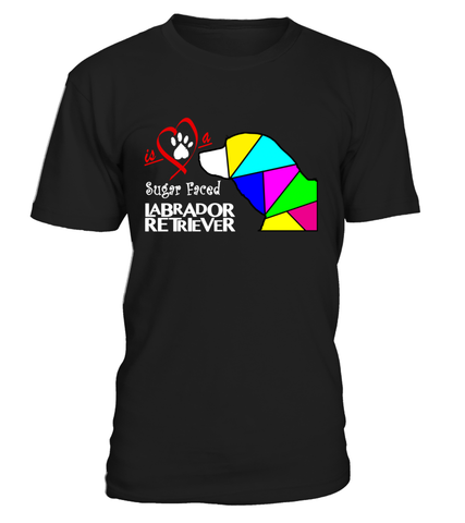 "T-Shirt ""Love is a Sugar Faced Labrador Retriever"" Premium"
