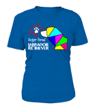 "T-Shirt ""Love is a Sugar Faced Labrador Retriever"" Woman's Premium"
