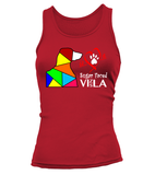 "Tank Top ""Love is a Sugar Faced Vizsla"" Woman's Premium"