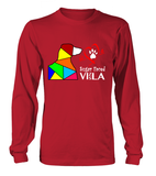 Red Long Sleeved T-Shirt Love is a Sugar Faced Vizsla