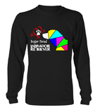 Black Long Sleeved T-Shirt Love is a Sugar Faced Labrador Retriever