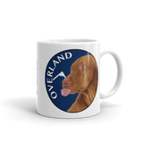 He's Not A What! He's A Vizsla - Art - Mug