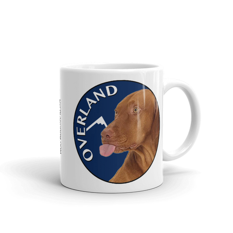 Overland Dog Mug - Covering the World One Paw at a Time