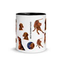 Limited Edition Vizsla Mug with Color Inside