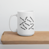 Vizsla Mug - The Names We Live With