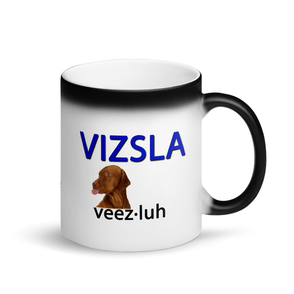 Vizsla Tongue Out Magic Mug