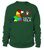 "Sweatshirt ""Love is a Sugar Faced Vizsla"" Premium"