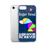 Love is a Sugar Faced Labrador Retriever - iPhone 5/5s/Se, 6/6s, 6/6s Plus Case