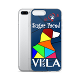 Love is a Sugar Faced Vizsla - iPhone 7/7 Plus Case