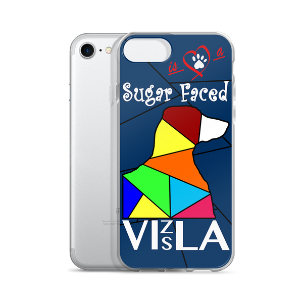 Love is a Sugar Faced Vizsla - iPhone 5/5s/Se, 6/6s, 6/6s Plus Case