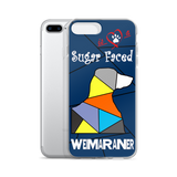Love is a Sugar Faced Weimaraner - iPhone 7/7 Plus Case