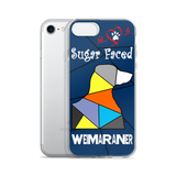 Love is a Sugar Faced Weimaraner - iPhone 5/5s/Se, 6/6s, 6/6s Plus Case