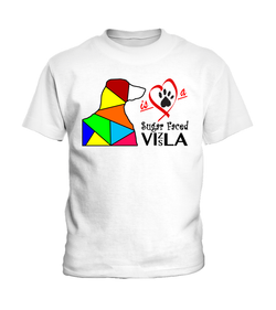 "T-Shirt ""Love is a Sugar Faced Vizsla"" Children's Premium"