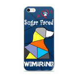 Love is a Sugar Faced Weimaraner - iPhone 5/5s/Se, 6/6s, 6/6s Plus Case 2