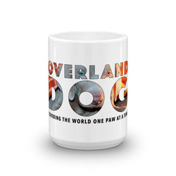 Weimaraner Puppy Mug - Covering the World One Paw at a Time