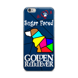 Love is a Sugar Faced Golden Retriever - iPhone 5/5s/Se, 6/6s, 6/6s Plus Case 3