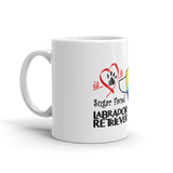 11oz Mug Love is a Sugar Faced Labrador Retriever 3