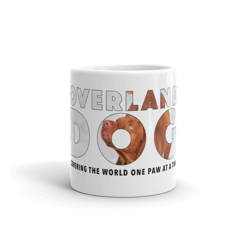 Vizsla Mug - Covering the World One Paw at a Time