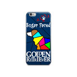 Love is a Sugar Faced Golden Retriever - iPhone 5/5s/Se, 6/6s, 6/6s Plus Case 4