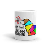 11oz Mug Love is a Sugar Faced Golden Retriever