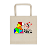 "Tote bag ""Love is a Sugar Faced Vizsla"" Premium"
